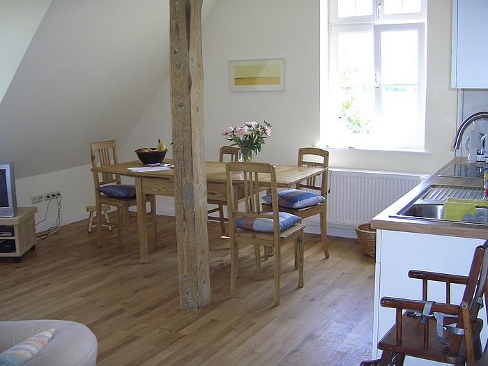 Ferienwohnung 5 Wohnzimmer und Küche