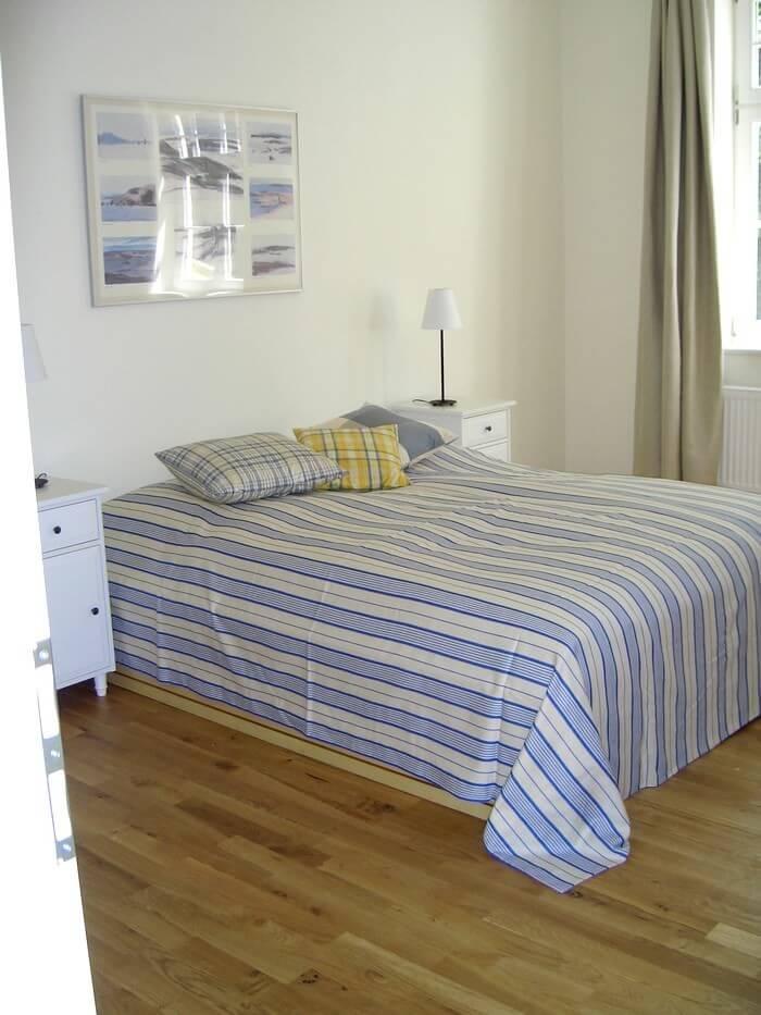 Ferienwohnung 3 Schlafzimmer nach vorn