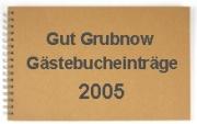 g�stebuch 2005