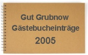 gästebuch 2005