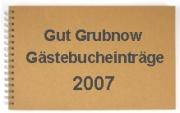 g�stebuch 2007