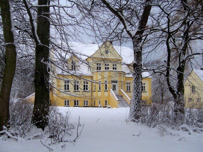 Ferienhaus Rügen im Winter