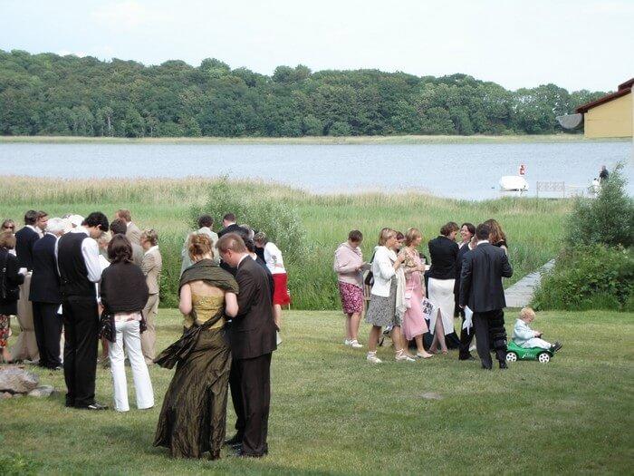 Hochzeitsfeier Gut Grubnow
