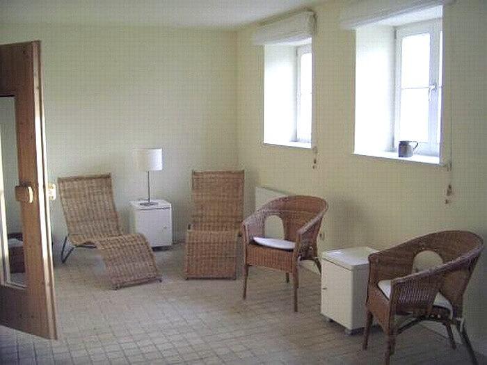 Sauna für alle Ferienwohnungen