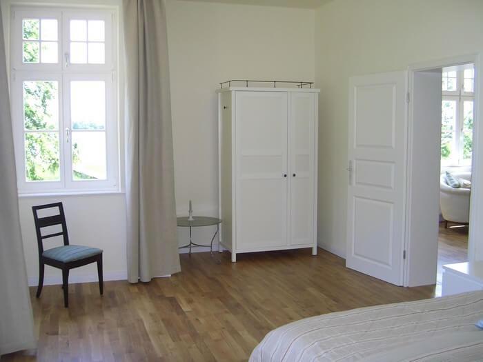 Schlafzimmer gartenseitig Wohnung 3
