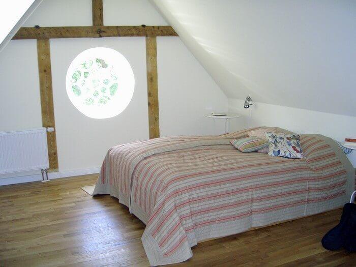 Schlafzimmer Ferienwohnung 8 Gut Grubnow