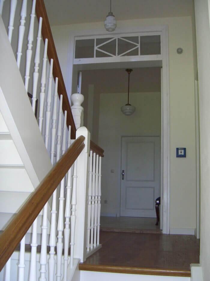 Ferienwohnung auf Rügen Treppenhaus