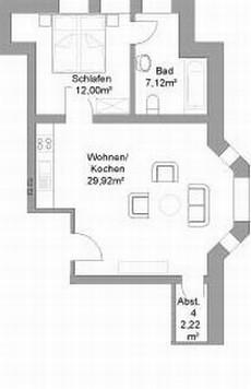 Grundriss Wohnung I