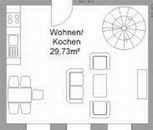 Floor plan apartment II