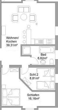 Floor Plan Apartment V