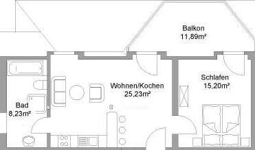 Floor plan apartment VI