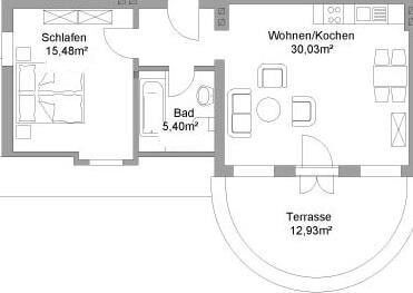 Floor plan apartment VII