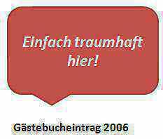 Gästebucheintrag 2006